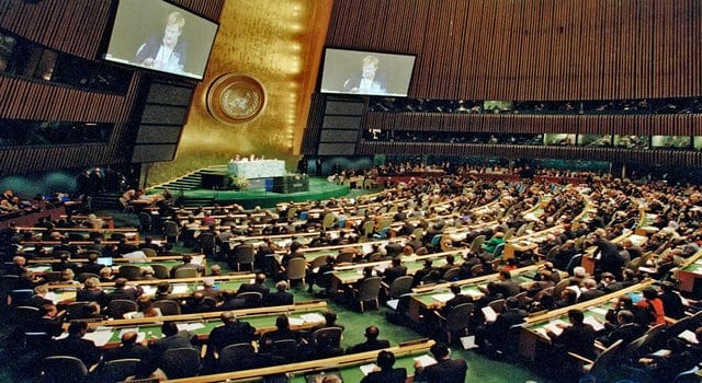 United Nations General Assembly (Photo: Facebook)