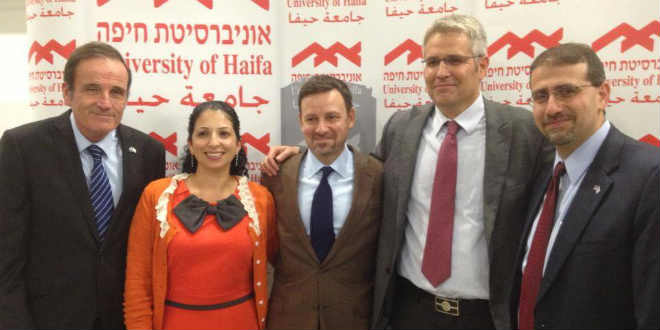 US Ambassador to Israel Daniel Shapiro at the inaugural event of the Ruderman Program for American Jewish Studies at the University of Haifa