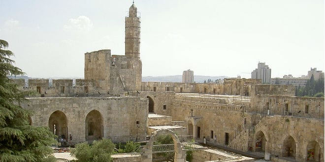 Tower of David in the Old City of Jerusalem. (Photo: Edo M./ Wiki Commons)