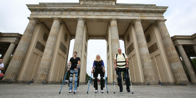 Paraplegics walking again using ReWalk. (Photo: Argo Medical Technologies)