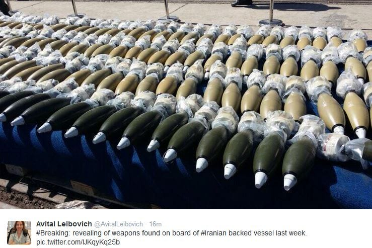 weapons iran idf