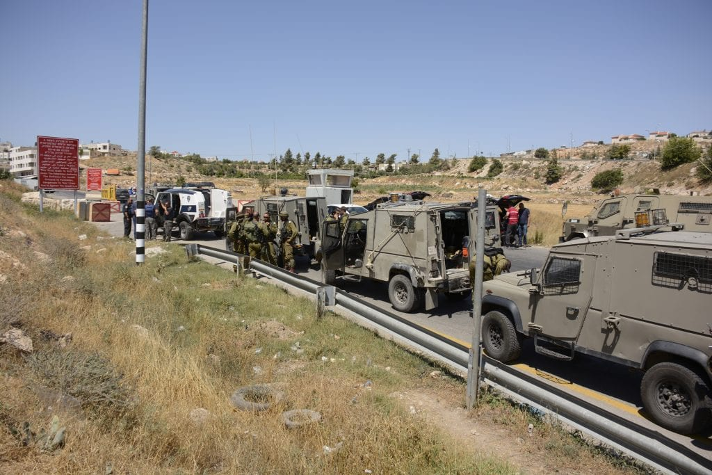 IDF searches for missing teens in Judea and Samaria, June 14, 2014. (Photo: IDF)