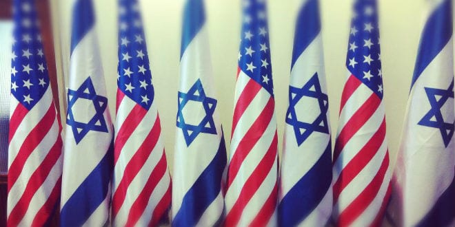 us israel flag