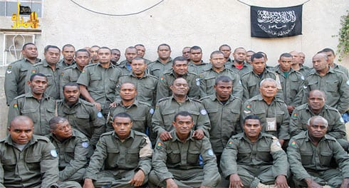 Fijian UN peacekeepers captured by the Al Nursa Front in Syria.