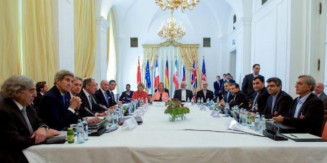 P5+1 member countries met with Iranian officials amid negotiations about the future of their country's nuclear program, July 6, 2015. (Photo: US State Department)