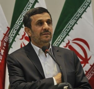 Mahmoud Ahmadinejad, the former president of the Islamic Republic of Iran, at the United Nations Conference on Sustainable Development in Rio de Janeiro, Brazil, June 21, 2012. (Photo: Agência Brasil/ Wiki Commons)