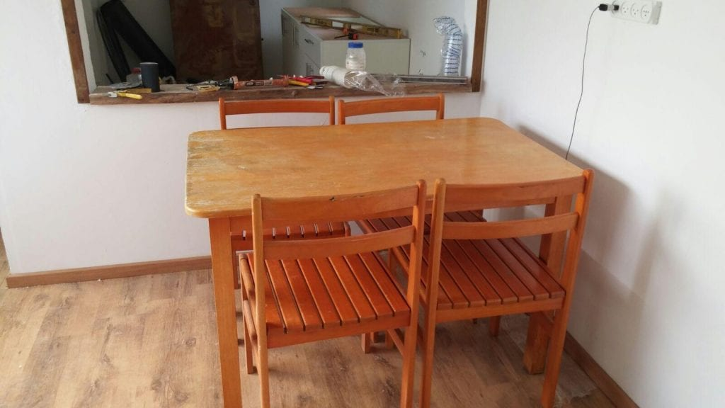 A new table for an IDF soldier (Photo: Karmey Chesed)