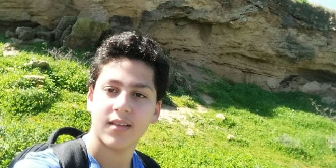 9th grade Netanel credits Tikva Hope with helping him get to where he is today. (Photo: Tikva Hope)