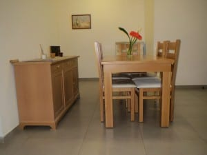 The family's new furniture provided by Karmey Chesed. (Photo: Karmey Chesed)