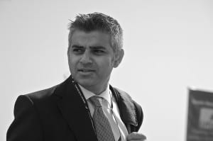 Sadiq Khan (Photo by Steve Punter via Wikimedia)