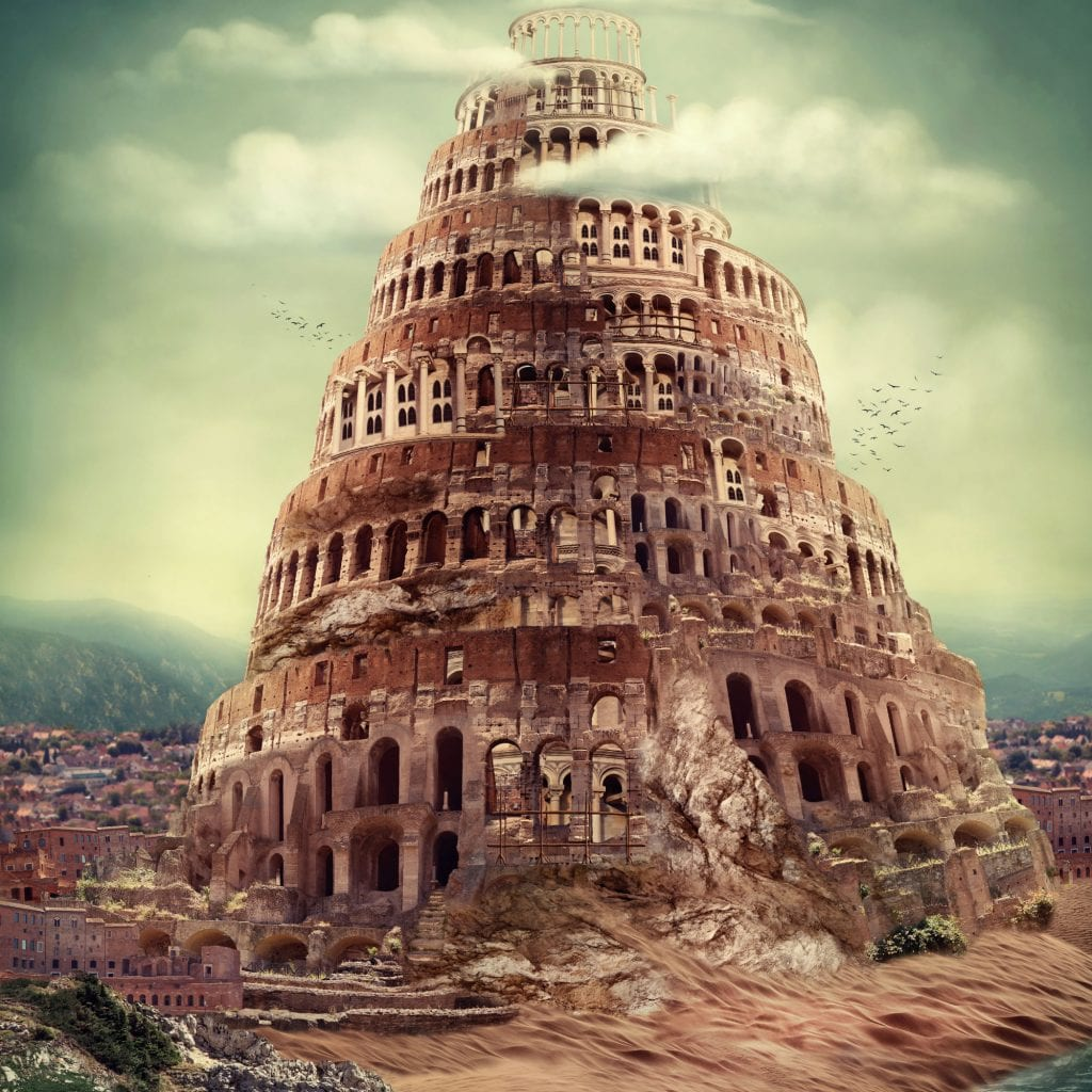 The Tower of Babel (Photo: Shutterstock.com)