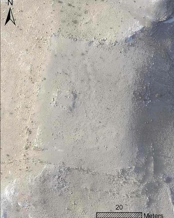 The platform as seen by satellite image. (Photo: Facebook)