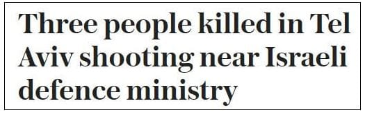 The Daily Telegraph's headline. (Honest Reporting)