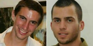 Hadar Goldin (L) and Oron Shaul (R) were killed during Operation Protective Edge in 2014. Hamas is still holding their bodies. (Photo: Facebook)
