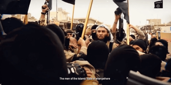 A scene from the ISIS video released on 14 June 2016. (Photo: Video screenshot.)