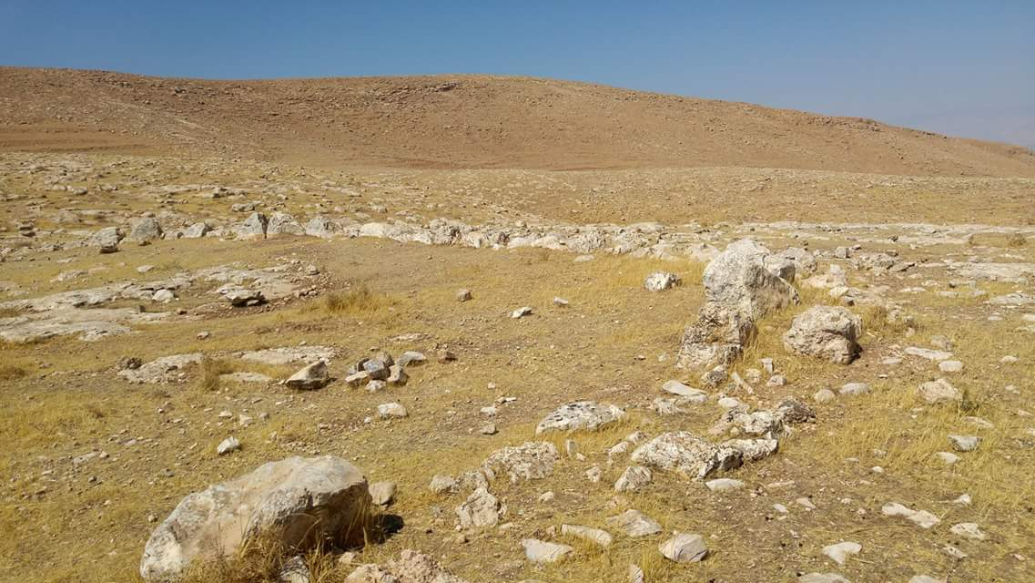One of the possible sites of Biblical Gilgal. (Courtesy of Society for the Protection of Nature in Israel)
