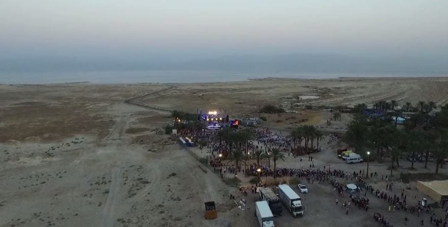 ICEJ Feast f Tabernacles 2016 Ein Gedi (Vimeo Screenshot)