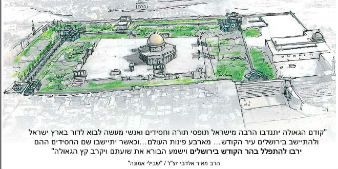 Will 2017 See a Synagogue on the Temple Mount? - Breaking ...